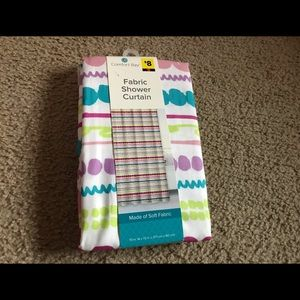 Other - NWT Fabric shower curtain 70 wide x 72 long